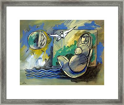 Mr Ameeba 10 Framed Print