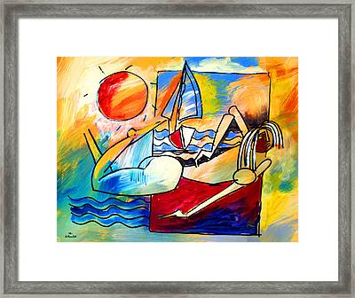 Mr Ameeba 11 Framed Print