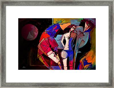Mr Ameeba 2 Framed Print