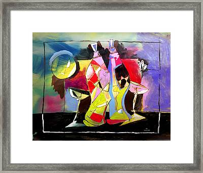 Mr Ameeba 3 Framed Print