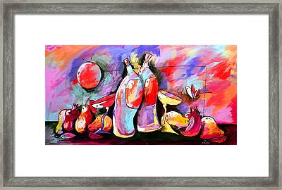 Mr Ameeba 4 Framed Print