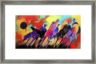 Mr Ameeba 5 Framed Print