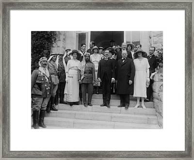 Mr. And Mrs. Winston Churchill Framed Print