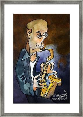 Mr. Blow Framed Print