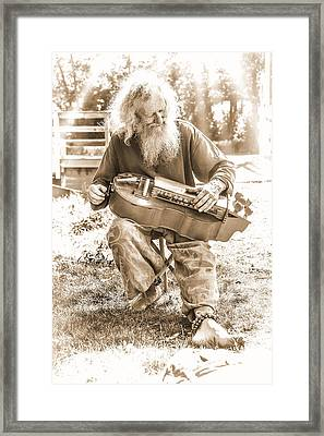 Mr. Bojangles Framed Print