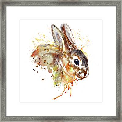 Mr. Bunny Framed Print by Marian Voicu