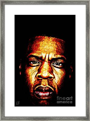 Mr Carter Framed Print