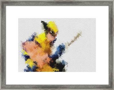 Mr. Claw Framed Print by Miranda Sether
