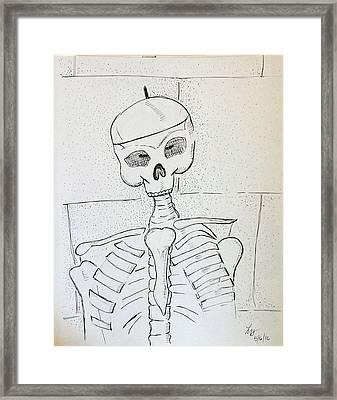 Mr Cooper's Aide Framed Print by Loretta Nash