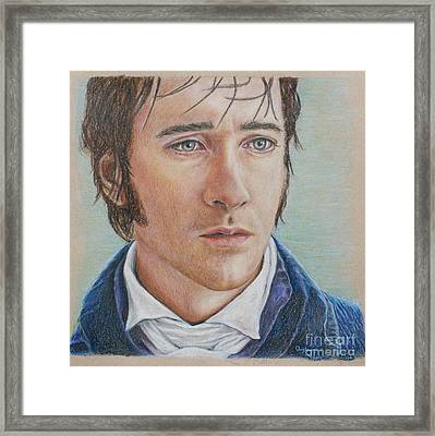 Mr. Darcy Framed Print