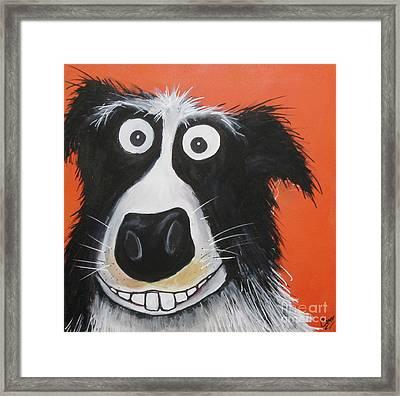 Mr Dog Framed Print
