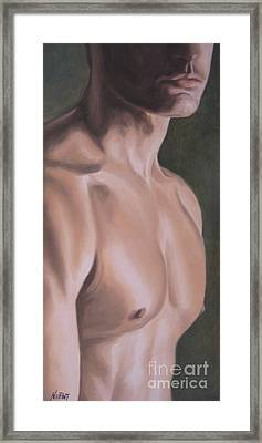 Mr. Dreamy Framed Print by Jindra Noewi