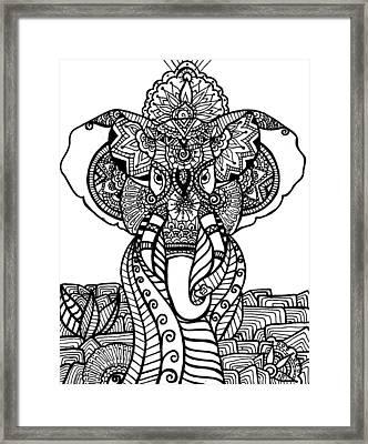 Mr. Elephante Framed Print