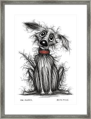 Mr Fluffy Framed Print by Keith Mills
