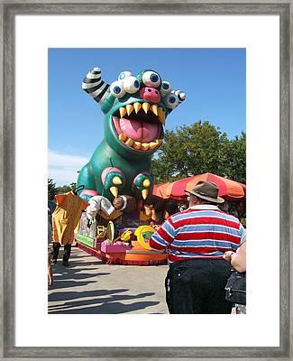 Mr. Fourbyfour At Cedarpoint Framed Print