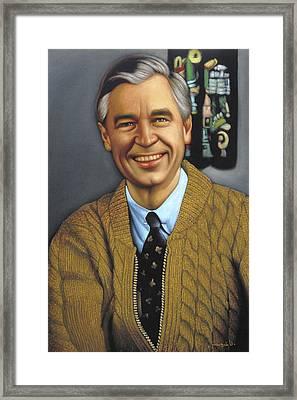 Mr Rogers Framed Art Prints Fine Art America