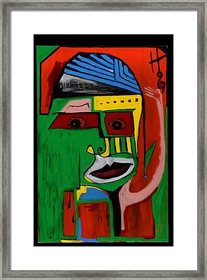 Mr. Green 36x24 Framed Print