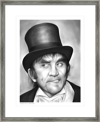 Mr Hyde Framed Print by Greg Joens