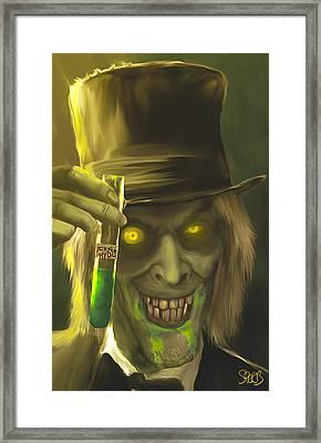 Mr Hyde Mark Spears Monsters Framed Print by Mark Spears