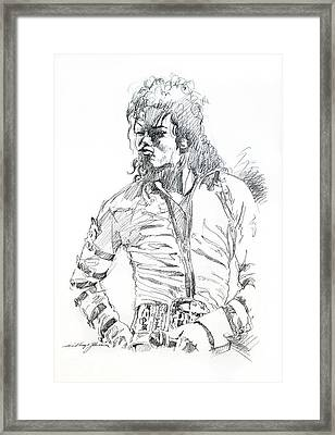 Mr. Jackson Framed Print