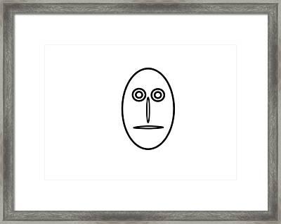 Mr Mf Is A Greenhorn Framed Print