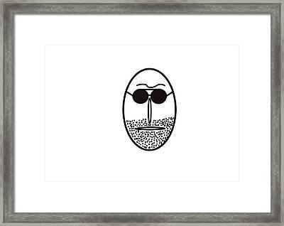 Mr Mf Is A Regular Latinlover  Framed Print