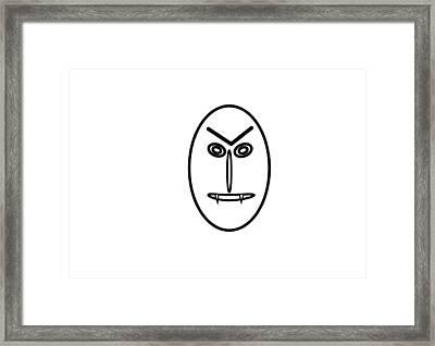 Mr Mf Is A Vampire Framed Print