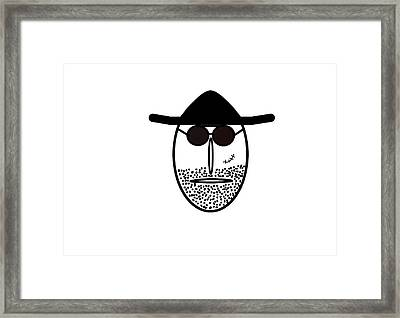 Mr Mf Is Scarface  Framed Print