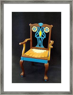Mr. Owl  Framed Print