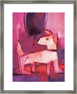 Mr Pink Framed Print by Lutz Baar