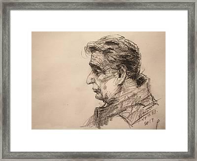 mr R Framed Print