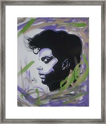 Mr. Rogers Nelson Framed Print