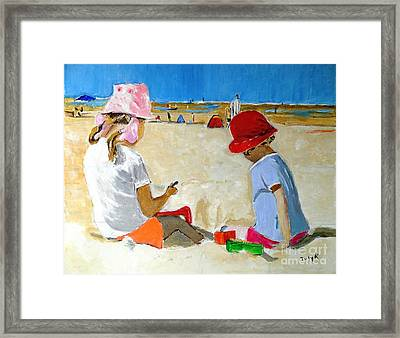 Mr. Sandman Framed Print by Judy Kay