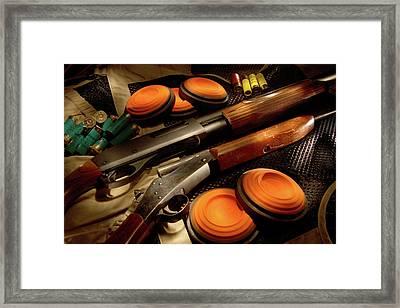 Mr. Skeet Framed Print by Daniel Alcocer
