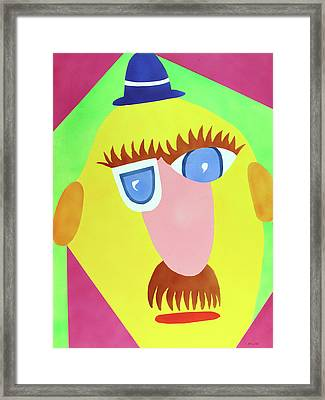 Framed Print featuring the painting Mr. Strangefellow by Thomas Blood