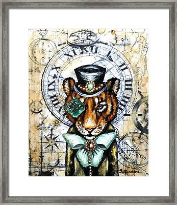 Mr. Tiger Framed Print