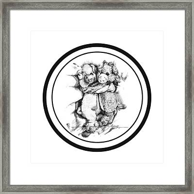 Mr.andmrspeggysweet Framed Print by Roa Malubay