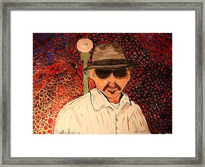 Mr.perez Framed Print by Shellie Gustafson