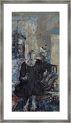 Mrs Anna Knight Framed Print by MotionAge Designs