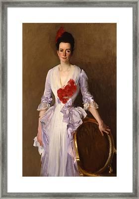 Mrs Archibald Douglas Dick Framed Print by John Singer Sargent