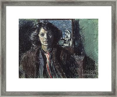 Mrs Barrett Framed Print by MotionAge Designs