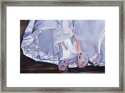 Mrs Beetose Framed Print by Denise H Cooperman
