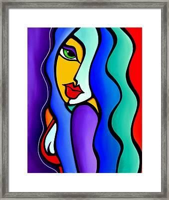 Mrs Brightside Framed Print by Tom Fedro - Fidostudio