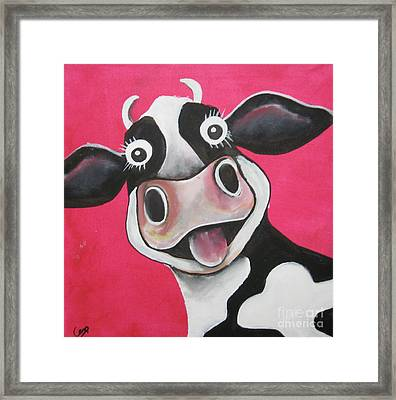 Mrs Cow Framed Print