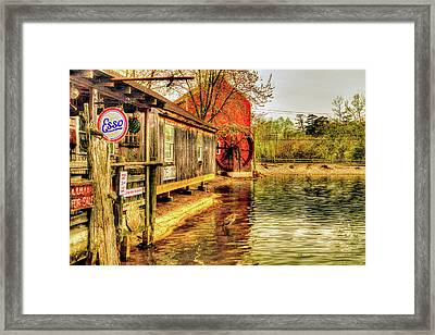 Mrs Duffs Gerneral Store Framed Print by Geraldine Scull