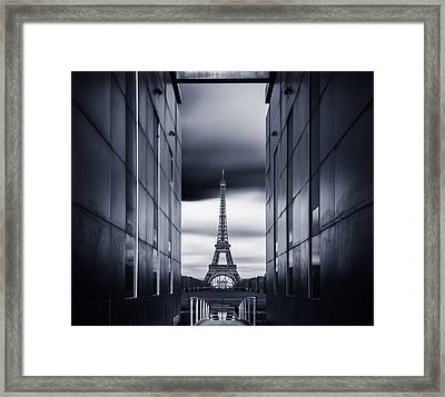 Mrs Eiffel Framed Print