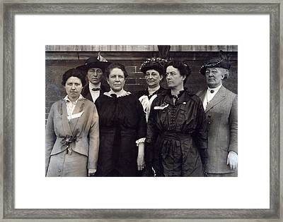 Mrs. Florence Kelley, Chief State Framed Print by Everett