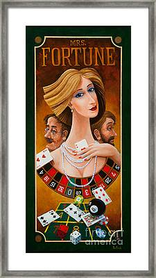 Mrs Fortune Framed Print