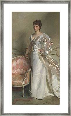 Mrs George Swinton  Elizabeth Ebsworth Framed Print