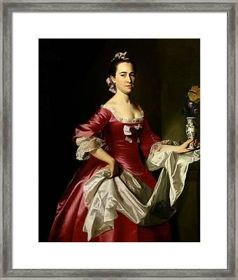Mrs. George Watson Framed Print